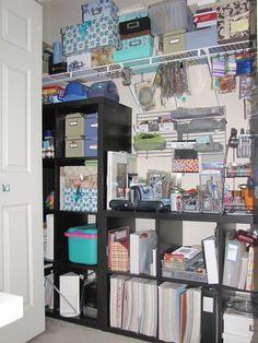 Scraproom: Closet Redo Left
