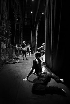 "St Petesburg Ballet Theatre, rehearsal for ""La Bayadere"". Photo by Louis Guillaume"