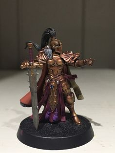 For The Greater Good! For Russ! For Gorkamorka!  The first of the Sisters of Silence. May I present Sister Superior Bernadette.