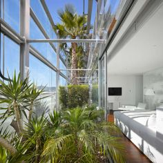 VERTICAL GARDEN OF RENAISSANCE BARCELONA FIRA HOTEL BY JEAN NOUVEL