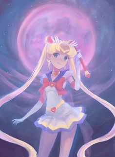 Sailor Moon by Mireys on @DeviantArt