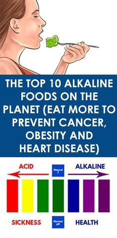 The Top 10 Alkaline Foods on the Planet (Eat more to prevent cancer, obesity and heart disease)