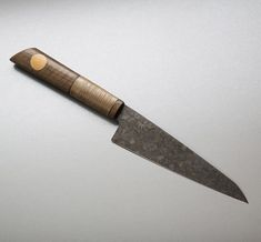Tribal Chef Ultralight custom kitchen knife by Don Carlos Andrade.