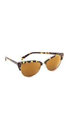 alisha mirrored polarized sunglasses / oliver peoples