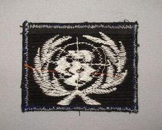 """This offering is for an old vintage US Army Soldiers Soldiers Shoulder Unit Patch. The patch belonged to a soldier who served from 1970 to 1971 on the DMX area in Korea and appears to be theater made. The patch measures 2 7/8"""" by 2¼ and it has been used but is still nice. I do not know what the patch signifies, if someone recognizes it and would like to drop me a note it would be appreciated."""