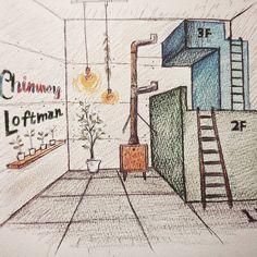 こんなチムニーも夢見ています  #NEWDAYS_FACTORY#Chimney#Trashcan#煙突家具#ゴミ箱#cooltrashcan#cutetrashcan#furniture#cute#lnstagood#industrial#インダストリアル#cafe#カフェ#interior#インテリア#renovation#リノベーション by newdays_factory