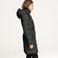 wintress puffer coat (j.crew)