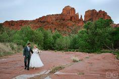 Sedona Wedding Red Rock Crossing Crescent Moon Park Wedding    Cameron & Kelly Studio