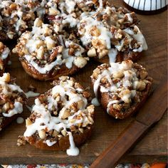 These breakfast buns are full of caramel sweetness. Recipe: Quick Breakfast Buns    - Delish.com