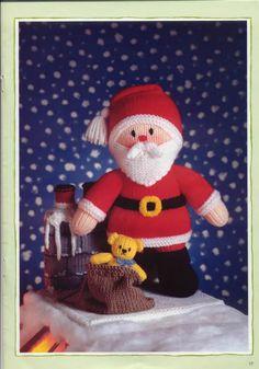 Free ISSUU PDF download tool online | Vebuka.com Knitting Dolls Free Patterns, Teddy Bear Knitting Pattern, Doll Amigurumi Free Pattern, Knitted Teddy Bear, Christmas Knitting Patterns, Knitting Toys, Knit Patterns, Free Knitting, Knitted Nurse Doll