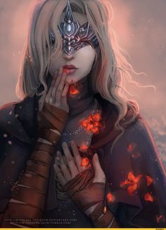 Fire keeper,DSIII персонажи,Dark Souls 3,Dark Souls,фэндомы