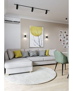 Small Living Room Lighting Ideas Bright Living Room Lighting Ideas ideas living room modern 6 Must-try living room lighting ideas to create an elegant look Living Room Color Schemes, Living Room Grey, Living Room Modern, Living Room Interior, Home Living Room, Living Room Designs, Living Room Decor, Small Living, Dining Room