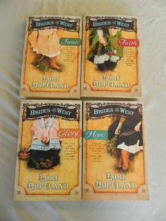 BRIDES O THE WEST ROMANCE BY LORI COPELAND– 4 PAPERBACK BOOKS – Combine Ship