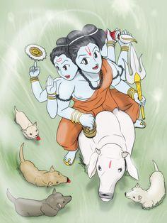 Little journey - Dattatreya Kumar by VachalenXEON on DeviantArt Shiva Tandav, Krishna Hindu, Shiva Art, Radha Krishna Images, Cute Krishna, Hindu Art, Hanuman, Guru Purnima Greetings, Indiana