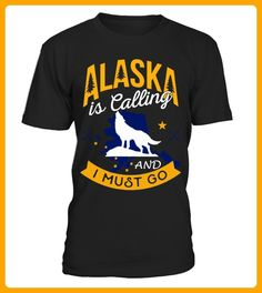 WOLF ALASKA is Calling AND I MUST GO - Wolf shirts (*Partner-Link)