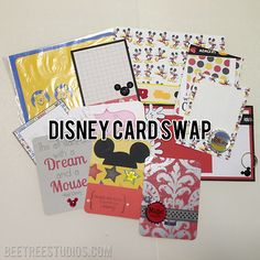 Disney Project Life Swap Cards: Project Life and Memory Keeping on Miscellaneous Monday   Bee Tree Studios