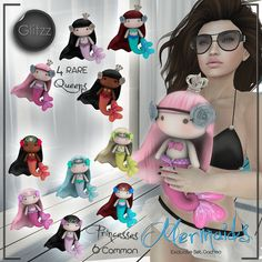 [Glitzz] Mermaids for Gacha | Flickr - Photo Sharing!