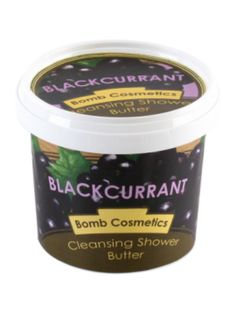 Bomb Cosmetics Blackcurrant Cleansing Shower Butter 320ml