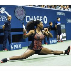 2015 USOPEN Serena-Williams-wins-match-over-Bethanie-Mattek-Sands Serena Williams Photos, Serena Williams Tennis, Venus And Serena Williams, Golf Sport, Professional Tennis Players, Sport Fitness, Fitness Workouts, West Palm Beach, Athletic Women