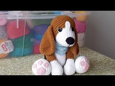 Perro Beagle Amigurumi Crochet - Patrón Paso A Paso Parte 1 Learn the fact (generic term) of how to Crochet Amigurumi Free Patterns, Crochet Toys, Free Crochet, Crochet Supplies, Single Crochet Stitch, Knitted Animals, Stuffed Animal Patterns, Beagle Dog, Pinterest Blog