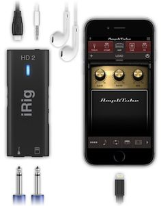 IK Multimedia iRig HD2. This is the new version of IK Multimedia's digital guitar interface, with improved features and compatibility.