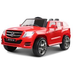 RIGO Kids Ride-On Car Mercedes Benz Inspired Electric Toy Cars with Remote Control and Battery-Red Power Wheel Cars, Kids Power Wheels, Boys Fashion Wear, Big Ride, Sport Seats, Flat Tire, Kids Ride On, Ride On Toys, Kids Boxing