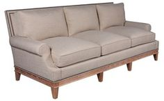 Atkins Sofa  Traditional, Upholstery  Fabric, Sofa by Edward Ferrell  Lewis Mittman