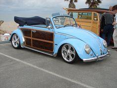 VW Beetle woodie