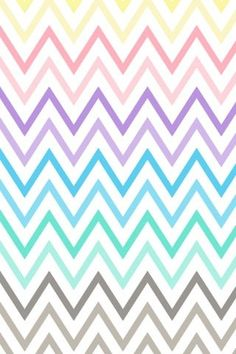 Colorful chevron stripes