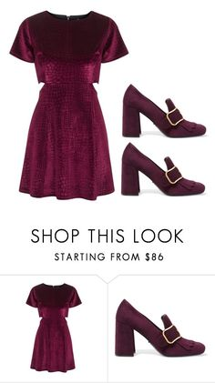 """""""What"""" by jenna19monzela ❤ liked on Polyvore featuring Topshop and Prada"""