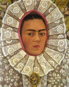 Autoritratto di Frida Kahlo del 1948