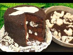 Dinosaur Dig Cake! Jurassic Park inspired SURPRISE INSIDE Cake by My Cupcake Addiction - YouTube