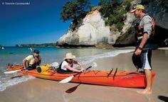 Kayaking a favourite pastime of Kiwis (NZ) & tourists alike.