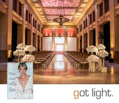 Today's Bride San Francisco | Bently Reserve Wedding | Lighting Design by Got Light