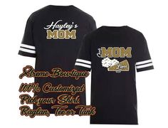 Excited to share this item from my shop: Custom Order for Team - Do Not Order from this link if your not part of the team Cheer Mom Shirts, Cheerleading Shirts, Graduation Shirts For Family, Team Mom, Football Jerseys, Jersey Shirt, Types Of Shirts, Custom Shirts, Colorful Shirts
