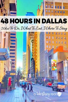 Planning a weekend getaway to Dallas? Want to know how much fun you can have in Dallas in only 48 or 72 hours? I'm here to show you much how fun you can do in Dallas in just a short amount of time! Weekend Humor, Weekend Trips, Weekend Getaways, Dallas Travel, Texas Travel, Texas Roadtrip, Usa Travel, Dallas Texas, Dallas Cowboys