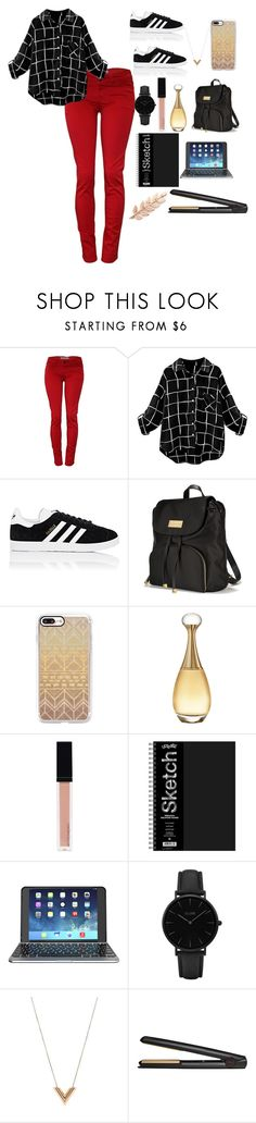"""""""New year school outfit"""" by meen16 ❤ liked on Polyvore featuring adidas, Victoria's Secret, Casetify, Christian Dior, Witchery, ZAGG, CLUSE, Louis Vuitton, GHD and Avigail Adam"""