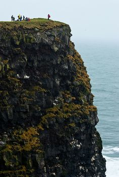 Ingolfshofdi Cliff, Iceland