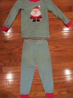 NWT Gymboree Holiday Sleepwear Santa Claus in Training Christmas Gymmies Pajamas