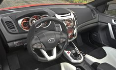 Dash view of the Kia Koup by aria-group.  www.aria-group.com