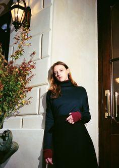 Emporio Armani with Eléonore Wismes @Louis Canadas  ---> www.cartonmagazine.com #CartonMagazine