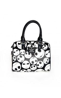 Jack Skellington Mini Tote Bag || Pinup Girl Clothing