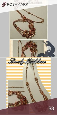 Lovely Necklace @ Rock'N Ship! What a lovely Necklace! Make it yours today! Bundle to save, like, share or buy now! Rock'N Ship is a preferred closet and top rated on Poshmark! We ship Monday-Saturday! Jewelry