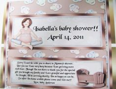 Baby Shower Favor full size Hershey bars by UniquelyDesigneditem