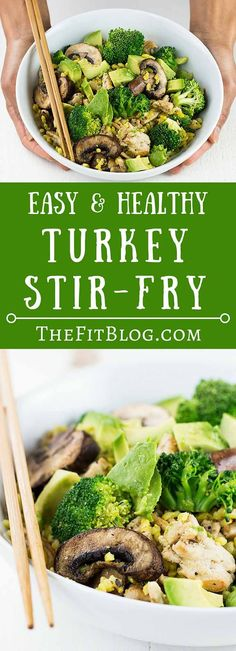 Healthy Turkey Stir-Fry
