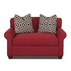 Affordable Sleeper Chairs & Ottomans small space solutions   Apartment Therapy (This one is from JC Penny)