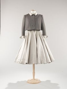 Traina-Norell cocktail ensemble, 1951