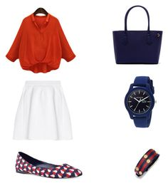 """""""Viernes de compras"""" by sonia-marin on Polyvore featuring malo, WithChic, Nine West, Tory Burch and Lacoste"""