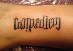 carpe diem tattoo - Google zoeken