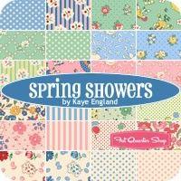 Spring Showers Half Yard BundleKaye England for Wilmington Prints